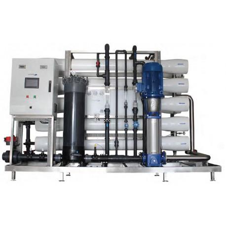 Osmoseur industriel à double osmose pour eau ultra-pure