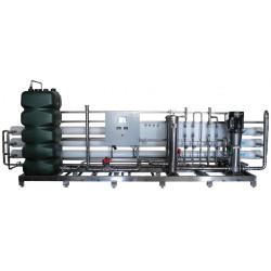 Osmoseur industriel à double passage pour eau ultra-pure