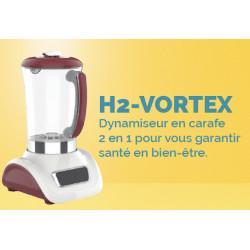 H2-Vortex - Dynamiseur en carafe 2 en 1