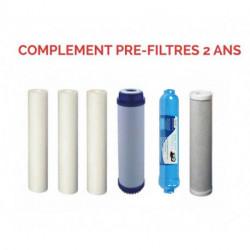 Complément de filtres pour osmoseurs