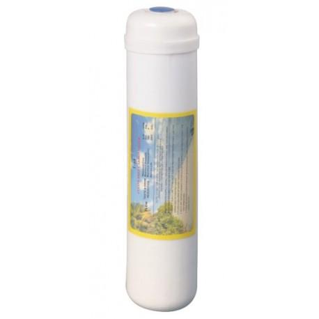 Cartouche de résine pour osmoseur domestique