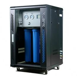Osmoseur professionnel 800 GPD mobile et réglable