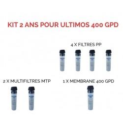Kit d'entretien pour osmoseur 400 GPD Ultimos