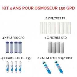 Kit d'entretien pour osmoseur à 150 GPD