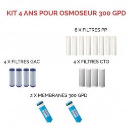 Kit d'entretien pour osmoseur 300 GPD DirectOs
