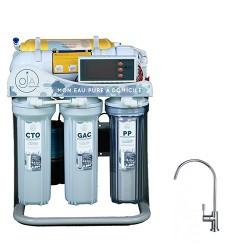Directos - Osmoseur 45 l/h avec pompe, vidange automatique et écran LCD