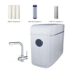 Compactos - Osmoseur à pompe ultra-compact avec ou sans réservoir