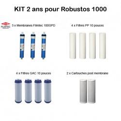 Kit d'entretien Filmtec pour Robustos 1000