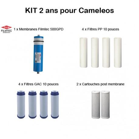 Kit d'entretien Filmtec pour Cameleos 500 GPD