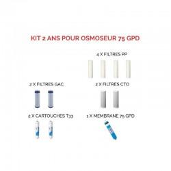 Kits d'entretien pour osmoseurs
