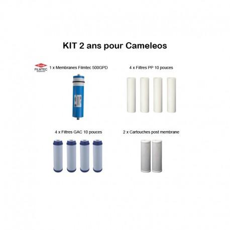 Kit 2 ans pour Cameleos