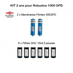 Kit d'entretien Filmtec pour Robustos 3000