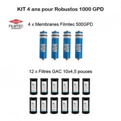 Kit d'entretien Filmtec pour Robustos 1000 GPD