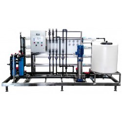 Osmoseur industriel 1 200 à 18 000 l/h pour eau à 2000 PPM
