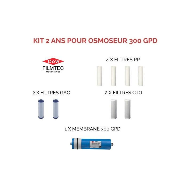 Kit 300 GPD Filmtec