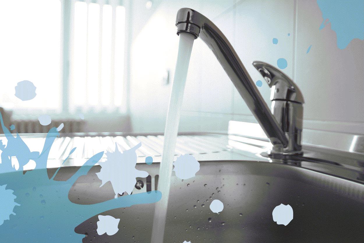 eau du robinet avec chlore