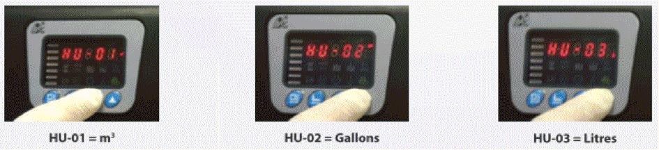 Régler unités de mesure