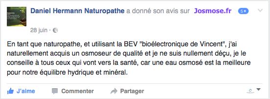 Un naturopathe témoigne