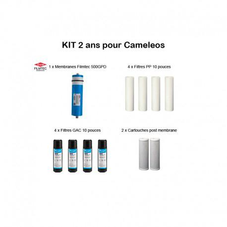 Kit d'entretien pour Caméléos