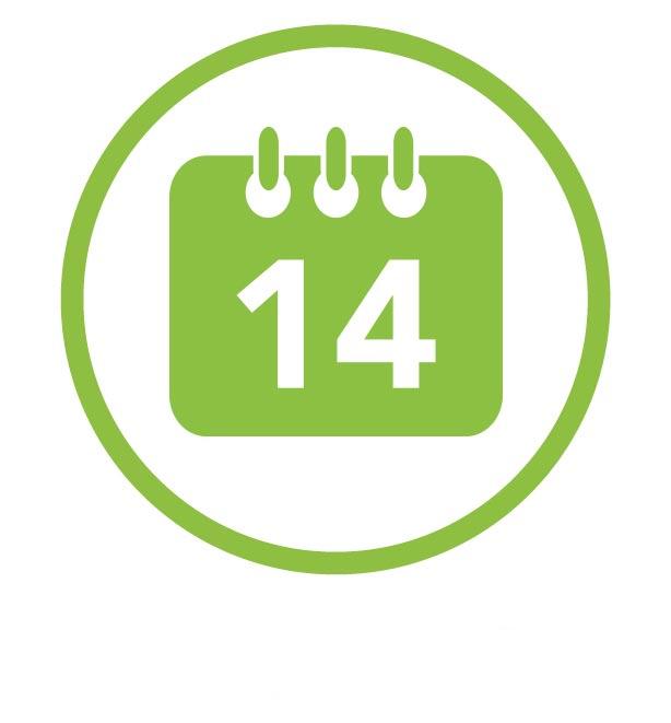 14 jours
