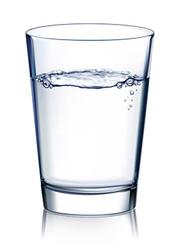 Verre d'eau osmosée