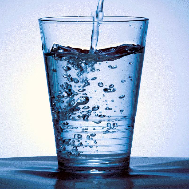 Avoir de l'eau pure