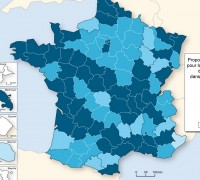 La situation de l'eau en France